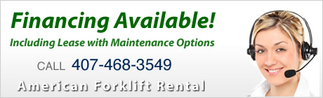 Orlando Florida Starke forklift dealers, safety training and new forklift sales and service.