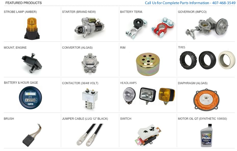 Best forklift parts, service, and rentals in Orlando, Lakeland, Tampa, and most of Central Florida.